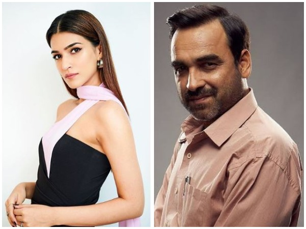 Kriti Sanon and Pankaj Tripathi (Image courtesy: Instagram)