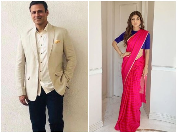 Vivek Oberoi and Shilpa Shetty, image courtesy: Instagram