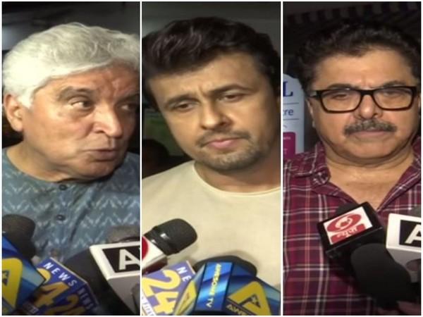 Javed Akhtar, Sonu Nigam, Ashoke Pandit