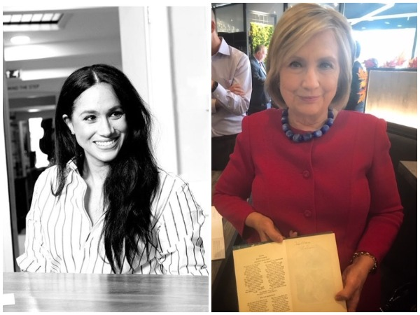 Meghan Markle and Hillary Clinton (Image courtesy: Instagram)