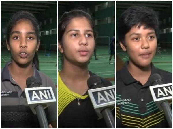Shreya Chittur, Sara, and Manata Kavita (from L-R)