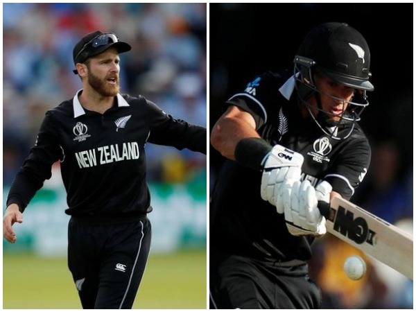 Kane Williamson (L) and Ross Taylor (R)