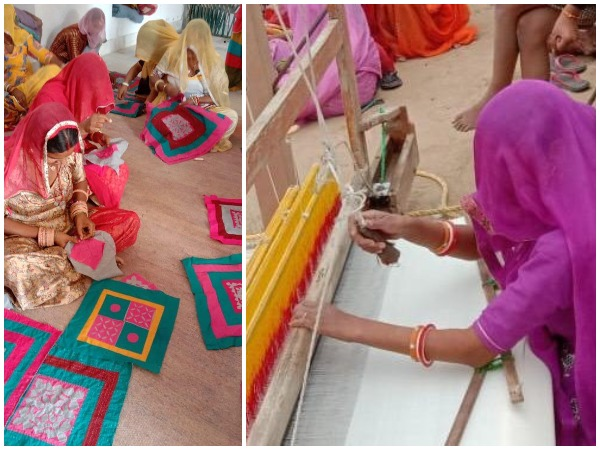 The efforts of the institution have instilled courage in the women living in the veil, and their leaning is moving towards their traditional handicraft.