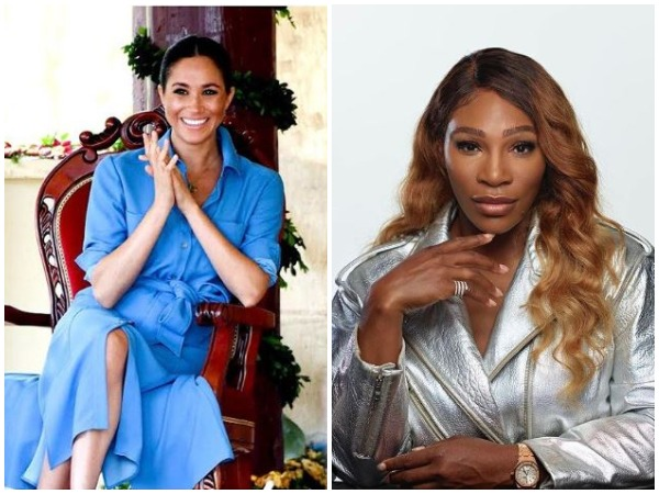 Meghan Markle and Serena William (Image courtesy: Instagram)