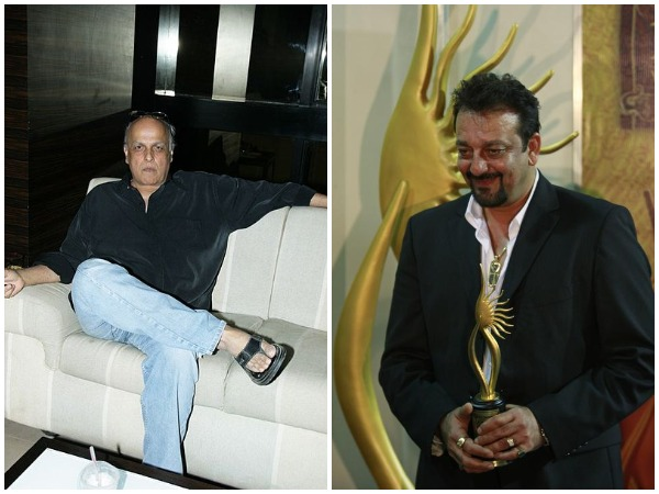 Mahesh Bhatt and Sanjay Dutt