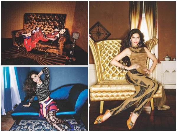 The series of pictures shared by actor Sonam Kapoor (Image courtesy: Instagram)