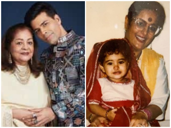 Bollywood celebs extend heartfelt messages for their mothers on Mother's Day (Image courtesy: Twitter)