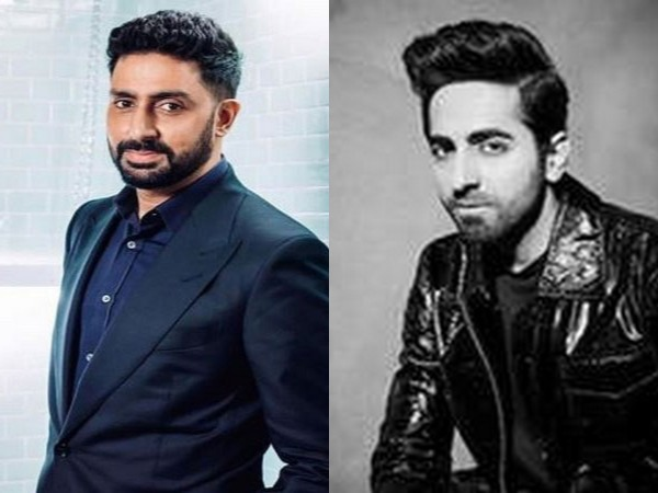 Actors Abhishek Bachchan and Ayushmann Khurrana (Image Source: Instagram)