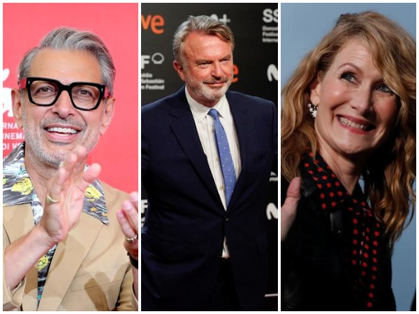 Jeff Goldblum, Sam Neill, Laura Dern