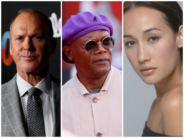 Michael Keaton, Samuel L. Jackson, Maggie Q