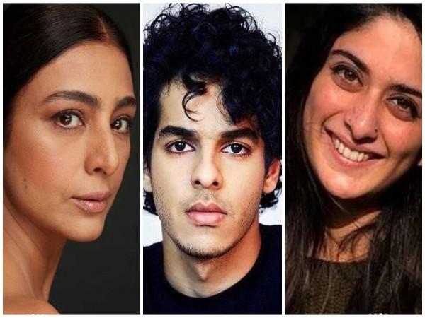 Tabu, Ishaan Khattar and Tanya Maniktala. Image courtesy: Instagram