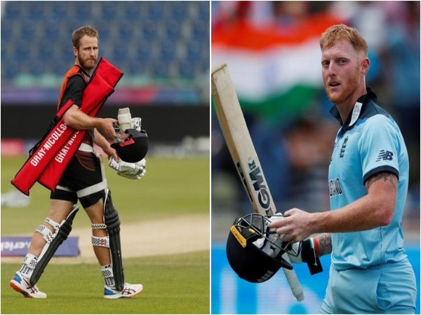 Kane Williamson (L) and Ben Stokes (R)