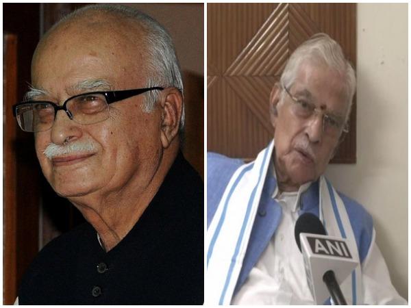 Senior BJP leaders LK Advani and Murli Manohar Joshi (file photo)