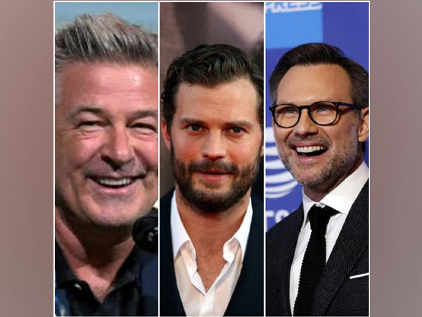 Alec Baldwin, Jamie Dornan and Christian Slater