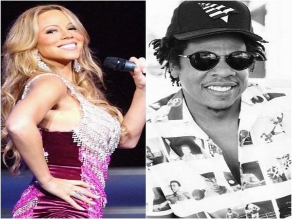Mariah Carey, Jay-Z (Image Source: Instagram)