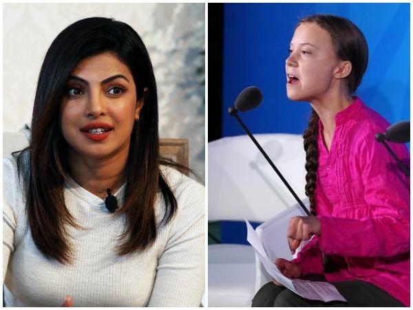 Priyanka Chopra, Greta Thunberg