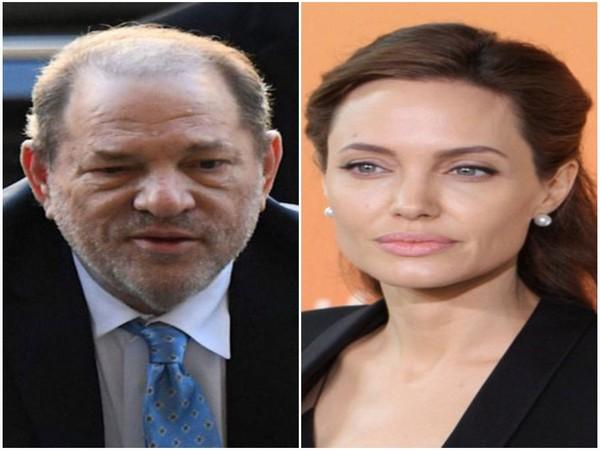 Harvey Weinstein and Angelina Jolie (Image source: Instagram)