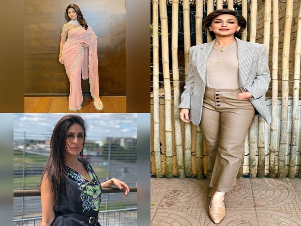 Actors Shilpa Shetty Kundra, Sonali Bendre behl and Kareena Kapoor Khan (Image Source: social media)