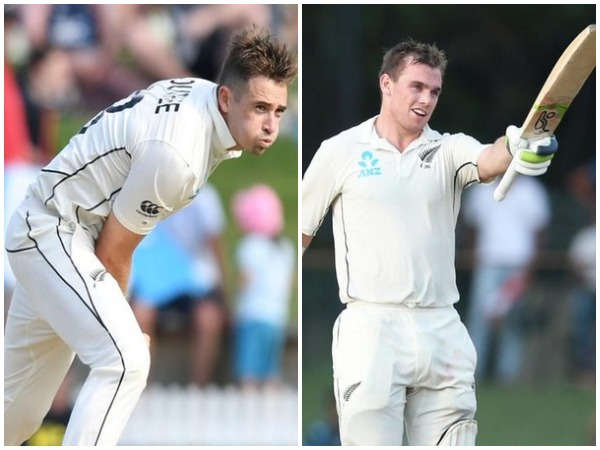 Tim Southee (L) and Tom Latham (R)