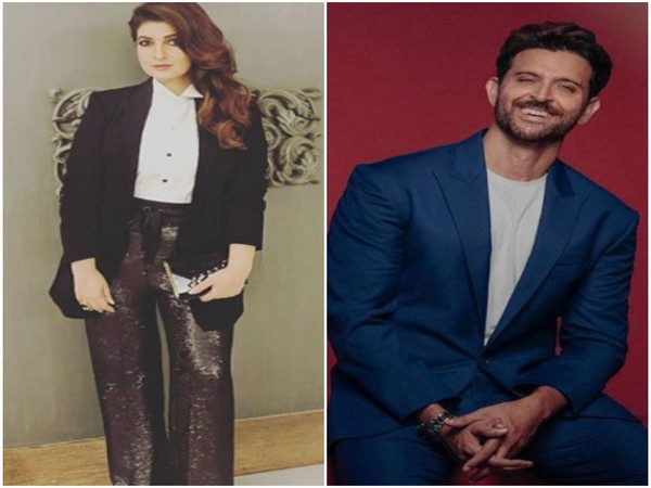 Twinkle Khanna and Hrithik Roshan (Image source: Instagram)