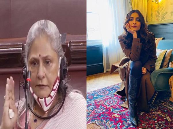 Veteran actor and lawmaker Jaya Bachchan and actor Sonam Kapoor Ahuja