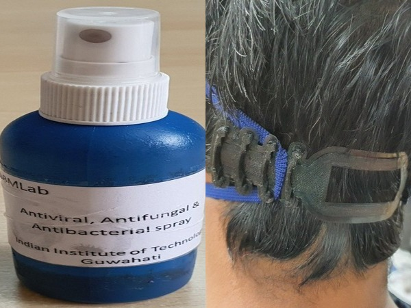 IIT Guwahati researchers have develop antiviral spray-based coating for PPE (Photo/ANI)