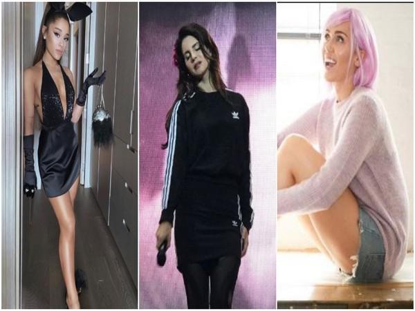 Ariana Grande, Lana Del Rey, Miley Cyrus (Image Courtesy: Instagram)