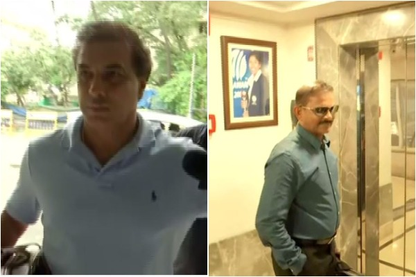 Robin Singh (L) and Lal Chand Rajput (R)