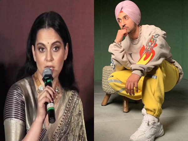 Actor Kangana Ranaut, Singer-actor Diljit Dosanjh (Image Source: ANI/ Instagram)