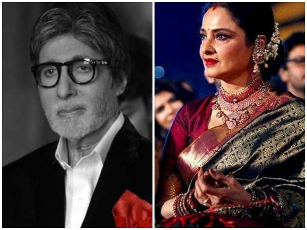 Amitabh  Bachchan and Rekha(Image courtesy: Instagram)
