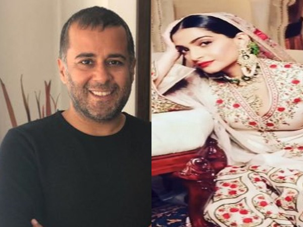 Writer Chetan Bhagat and actor Sonam Kapoor Ahuja (file)