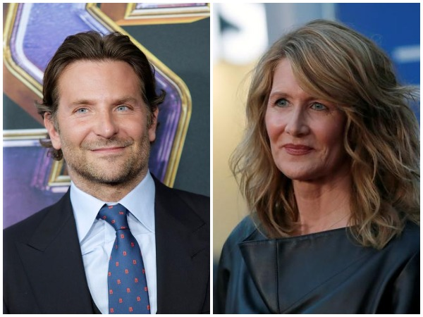 Bradley Cooper and Laura Dern