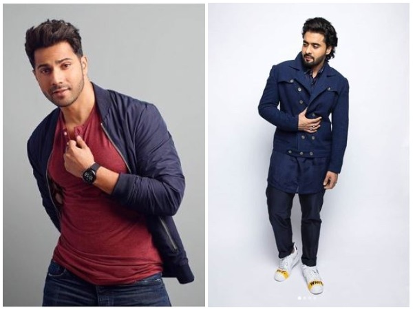 Varun Dhawan and Jackky Bhagnani (Image courtesy: Instagram)
