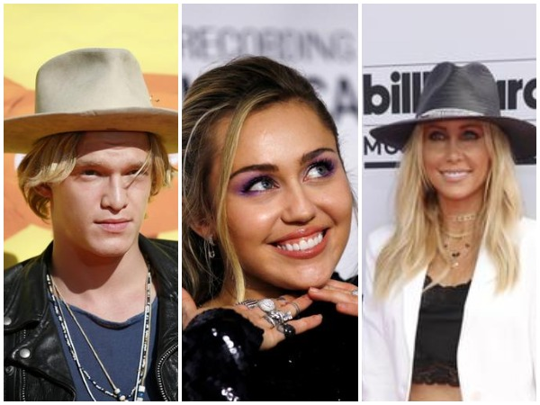 Cody Simpson, Miley Cyrus and Tish Cyrus