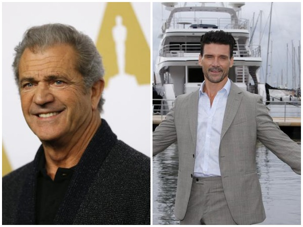 Mel Gibson and Frank Grillo