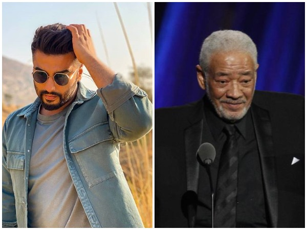 Actor Arjun Kapoor and late musician Bill Withers (Image courtesy: Instagram)