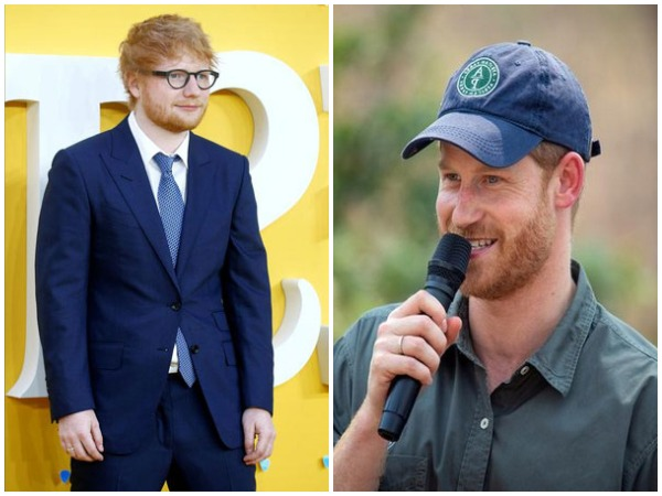 Ed Sheeran, Prince Harry