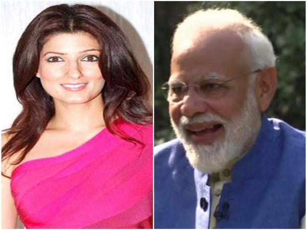 Twinkle Khanna and Prime Minister Narendra Modi