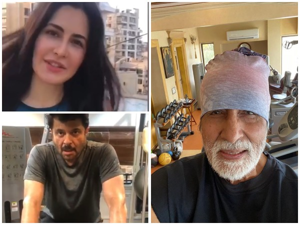 Bollywood actors Amitabh Bachchan, Anil Kapoor and Katrina Kaif (Image courtesy: Instagram)