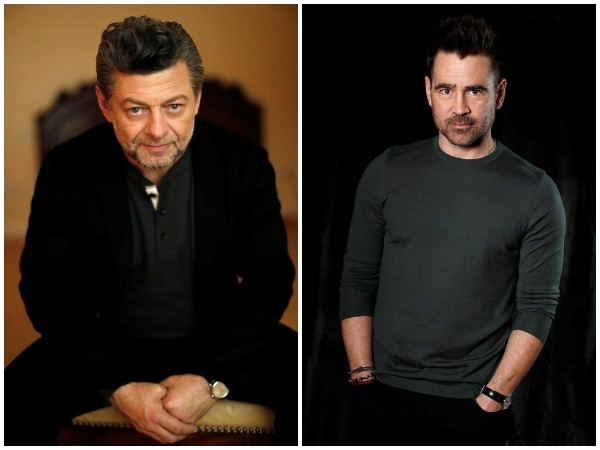 Andy Serkis, Colin Farrell