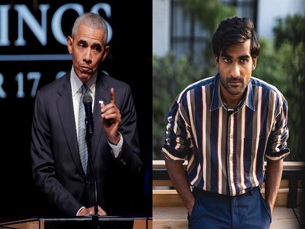 Former US President Barack Obama and Indian musician Prateek Kuhad