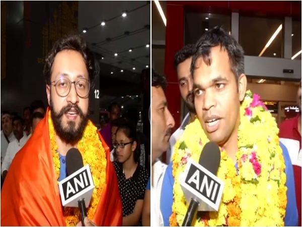 Shooters Abhishek Verma (L) and Deepak Kumar (R)