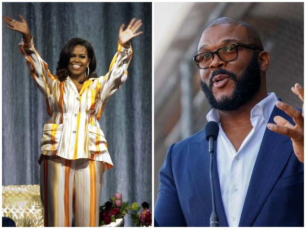 Michelle Obama and Tyler Perry