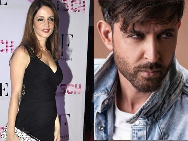 Actor Hrithik Roshan and his ex-wife Sussanne Khan