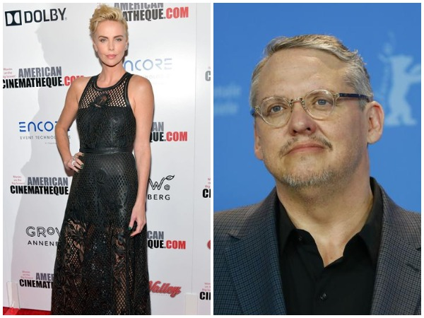 Charlize Theron and Adam McKay (Image courtesy: Instagram)