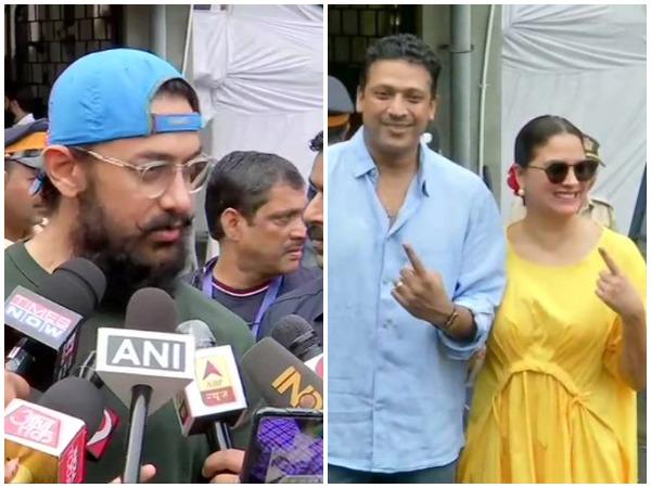 Aamir Khan, Lara Dutta and Mahesh Bhupati