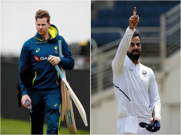 Steve Smith (L) and Virat Kohli (R)