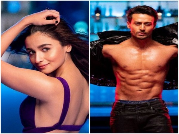 Alia Bhatt and Tiger Shroff