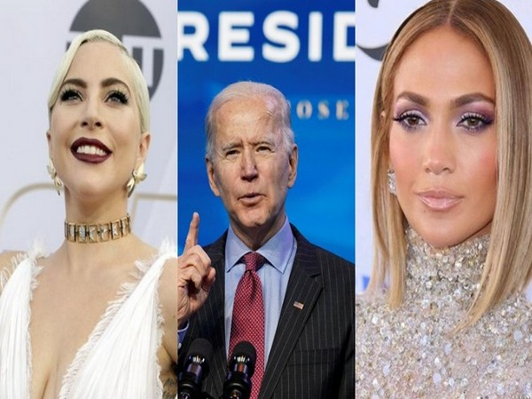 US President-elect Joe Biden and musicians Lady Gaga and Jennifer Lopez