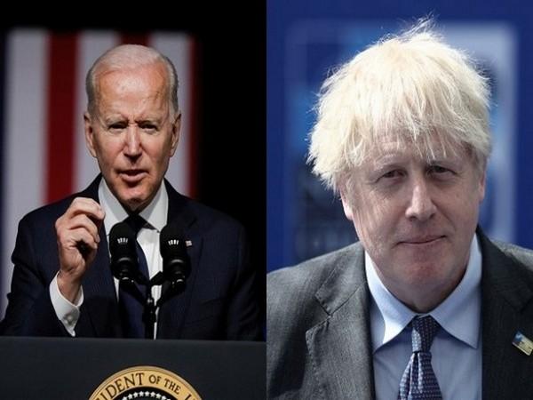 US President Jose Biden spoke with Prime Minister Boris Johnson of the United Kingdom